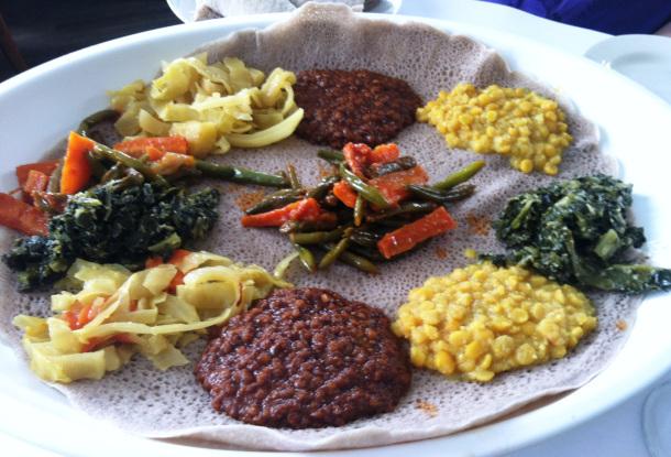 What this vegan eats das ethiopian in georgetown usa das for What do you call a vegetarian that eats fish